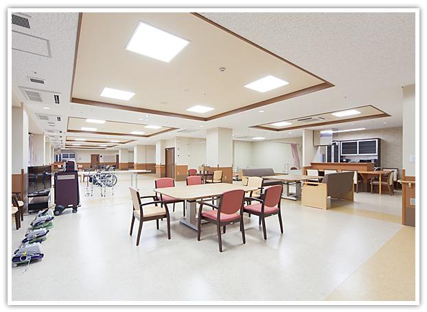 【写真】デイサービスセンター大高 デイルーム風景